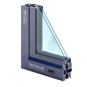 алюминиевый профиль ТатПроф МП65 для остекления