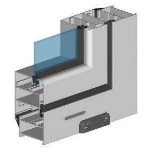 алюминиевый профиль Alutech C48 для остекления