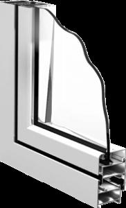 холодный профиль для остекления балконов