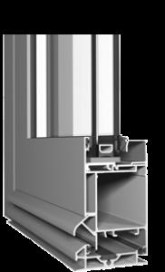 холодный алюминиевый профиль для входных дверей